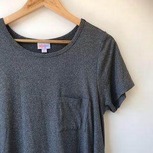 LulaRoe Long Dark Gray Dress Size Medium